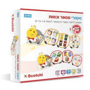 משחק לילדים להכרת עולם המספרים