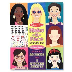 חוברת מדבקות - עיצוב הפנים