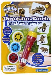 פנס מקרין דינוזאורים