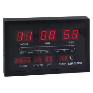 שעון תאריכון וטמפרטורה