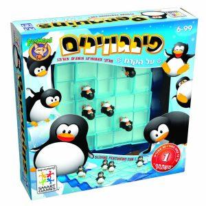משחק לוח פינגווינים
