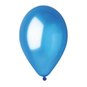 בלון כחול מטאלי