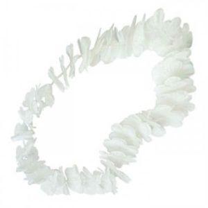 שרשרת הוואי לבנה