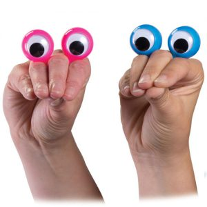 בובת אצבע עיניים