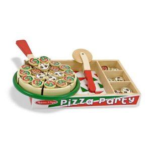 משחק פיצה מעץ