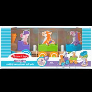 צעצוע קרונות עם חיות