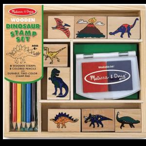 מארז חותמות דינוזאורים