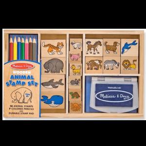מארז חותמות - חיות