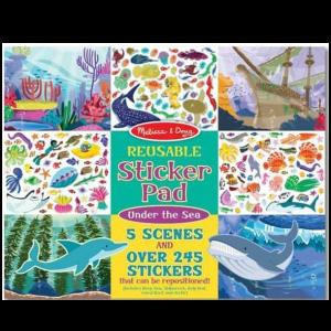 חוברת מדבקות - עולם הים
