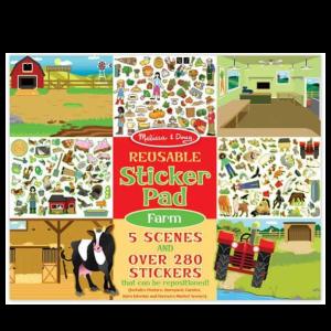חוברת מדבקות - חווה