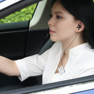דיבורית Bluetooth קליפס עם רטט