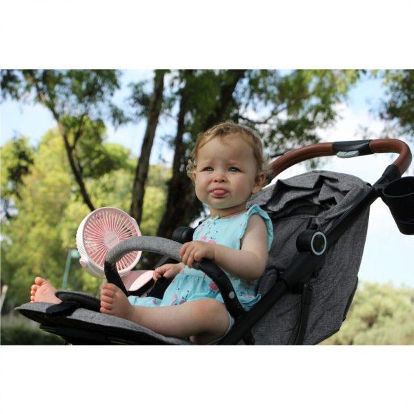 מאוורר לעגלת תינוק