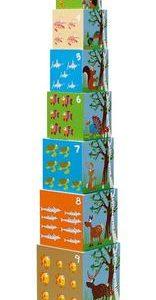 מגדל קוביות חיות