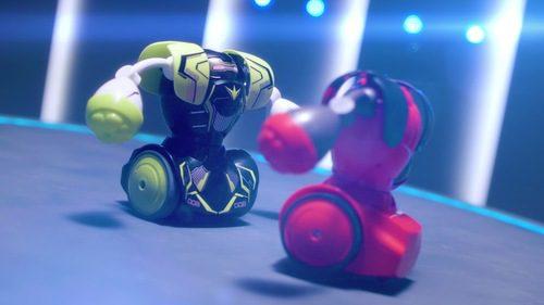 רובוטים מתאבקים