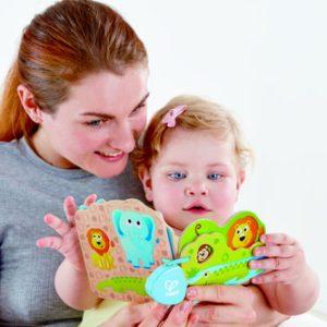 ספר מעץ לתינוקות