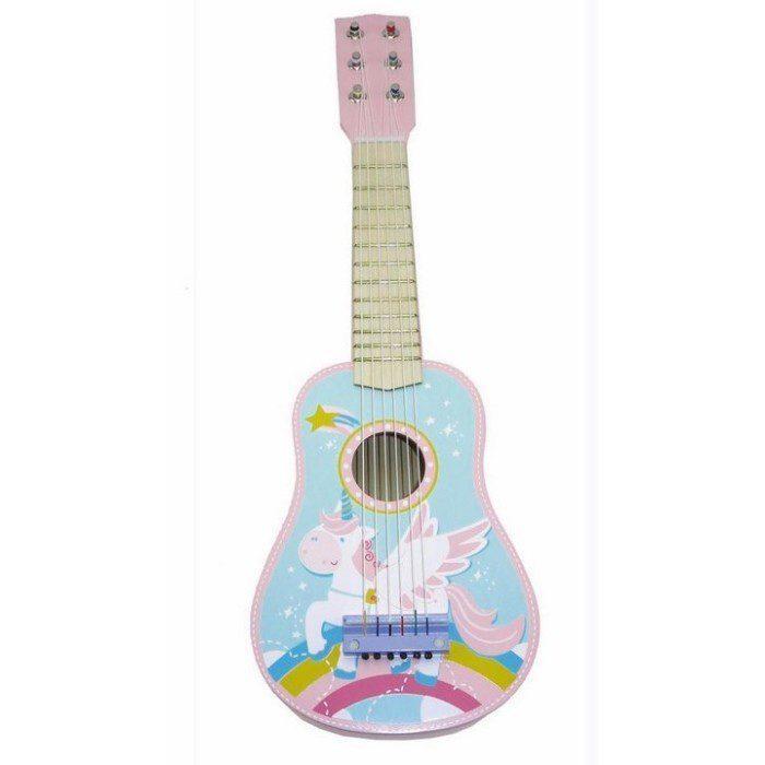 גיטרה חד קרן מעץ