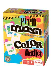 מירוץ צבעים משחק קלפים