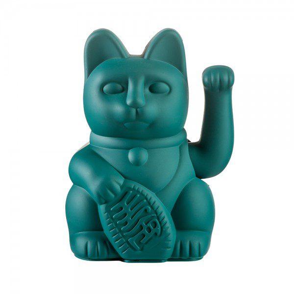 חתול מזל טורקיז