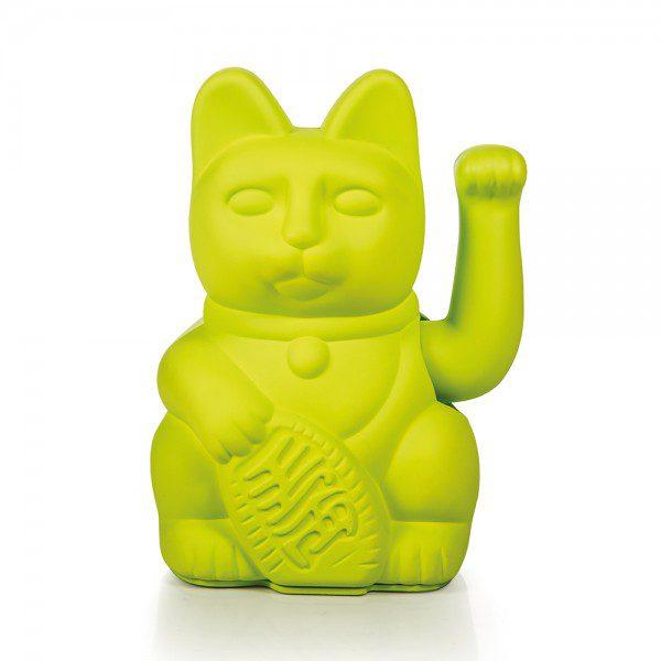 חתול מזל ירוק