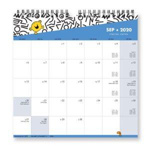 לוח שנה מר וגברת בשינוי אדרת