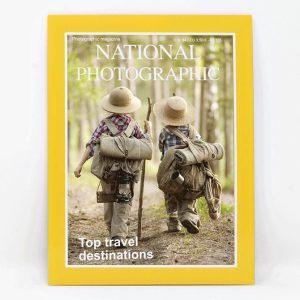 מסגרת לתמונה בצורת מגזין