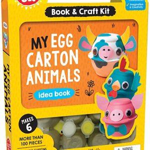 קרטון ביצים יצירה לילדים