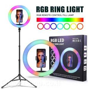 רינג תאורה RGB