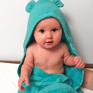 מגבת כובע לתינוק