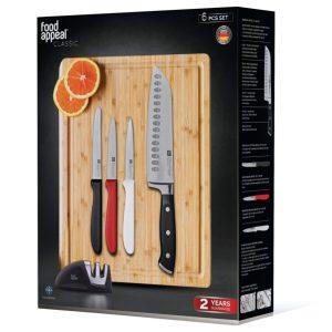 סט סכיני מטבח מתנה לבית ולמטבח