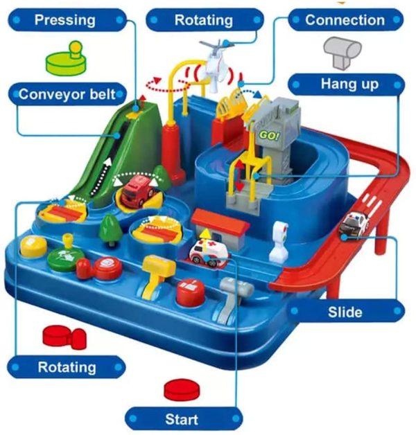 מסלול מכוניות לילדים