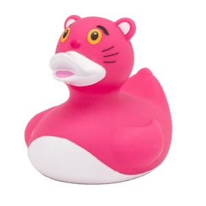 ברווז אמבטיה הפנתר הורוד
