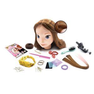 ראש בובה לעיצוב שיער