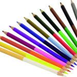 עפרונות צבעוניים דו כיווניים