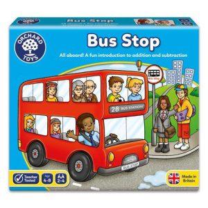 משחק לוח תחנת אוטובוס
