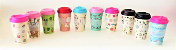 כוס טו גו עיצובים שונים