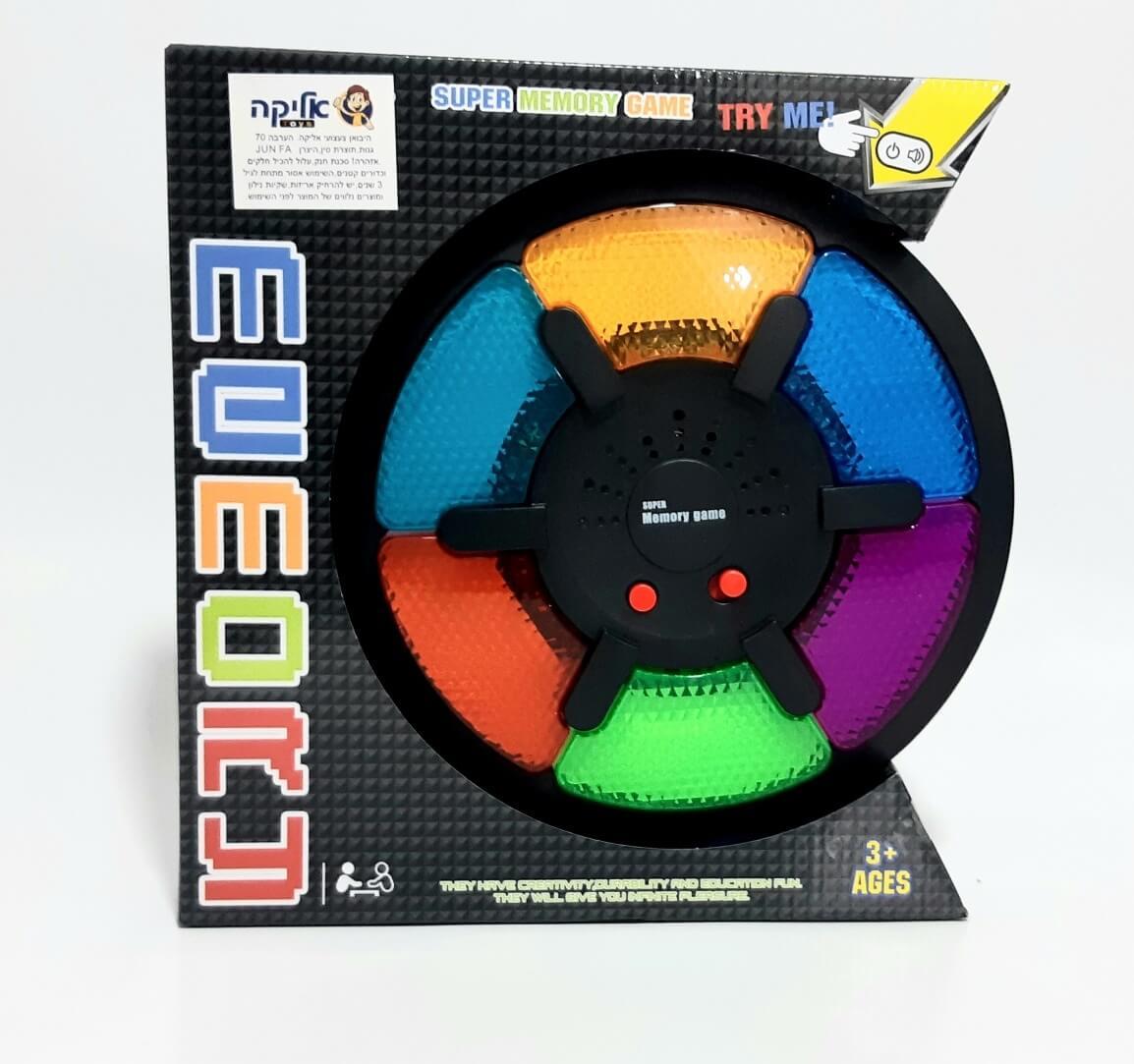סיימון משחק זיכרון עם אורות וצלילים