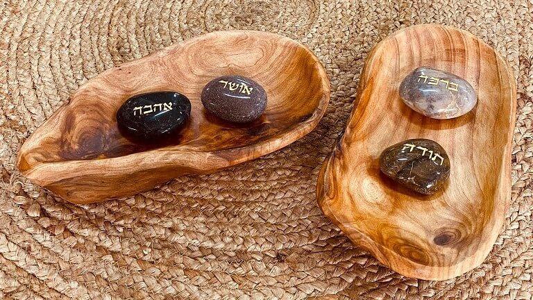 מגש עץ אגוז