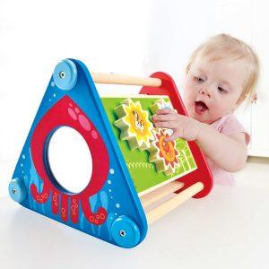 קוביית פעילות ניידת לתינוקות